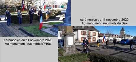 ceremonies du 11 novembre2020