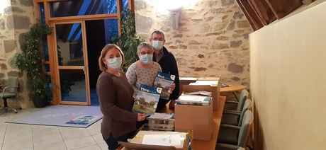 distribution des bulletins municipaux 2020