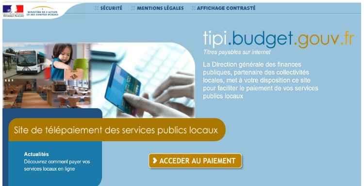 site paiements en ligne