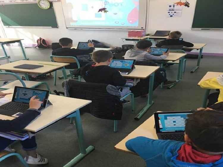 La classe numérique au Bex