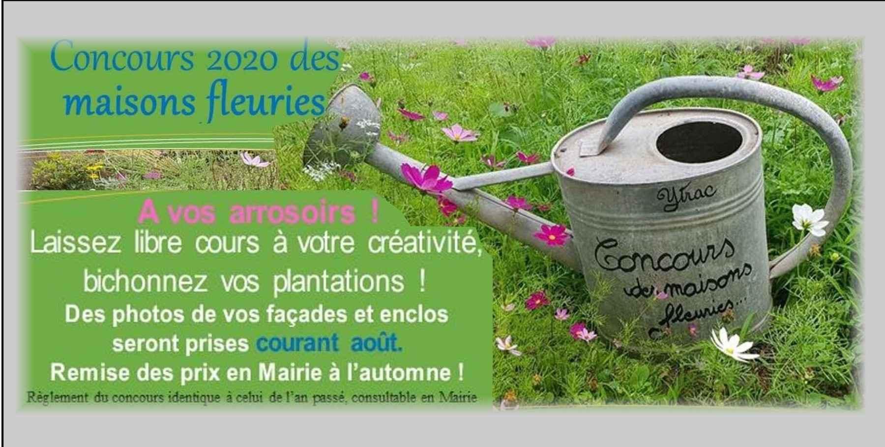 Masions fleuries2020